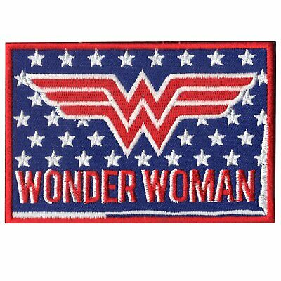 DC Comics Superhero Girl 151-Y Wonder Woman Standing Embroidered Iron On Patch