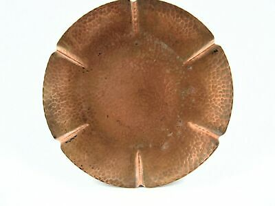 Arts & Crafts Hammered Copper Arthur Cole Avon Coppersmith Platter