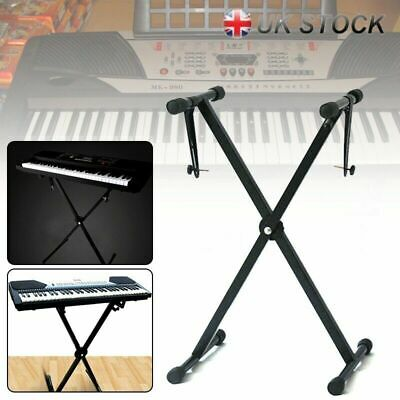 Electronic Piano X-Style Stand Music Keyboard Stand Synthesizer Rack Adjustable