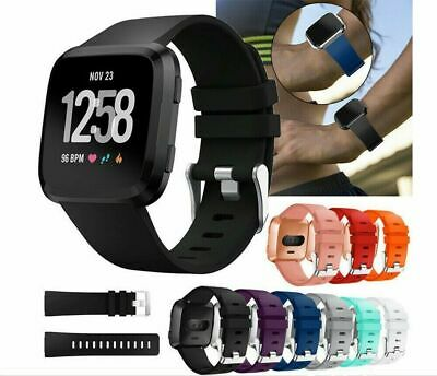 Replacement Silicone Wrist Band Breathable Strap for Fitbit Versa Watch CA