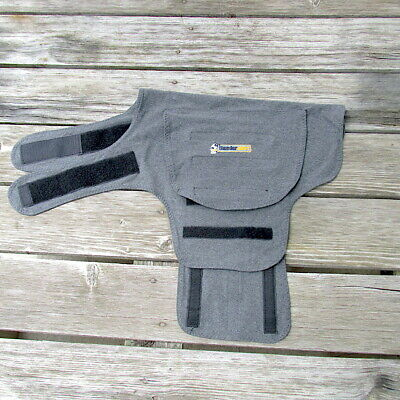 ThunderShirt Classic Large Dog Pet Anxiety Calming Loud Noise Festival Concert