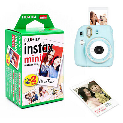 20 Sheets Fuji Instax Mini Film for Fujifilm Mini 7s/8/9/25/50/90 New