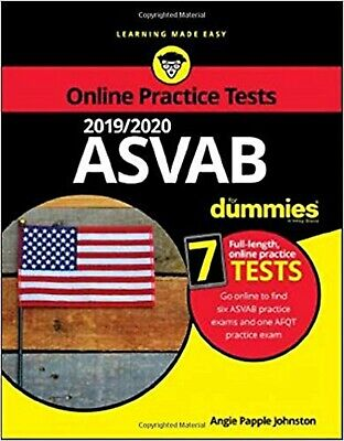 2019 /2020 ASVAB For Dummies with Online Practiceby Angie Papple Johnston Career
