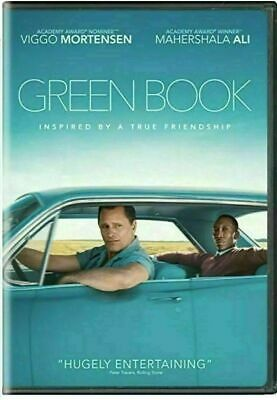 Green Book (DVD, 2019) New Sealed