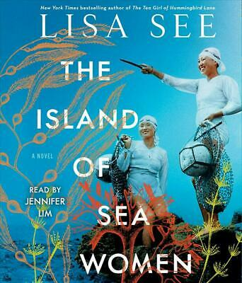 The Island of Sea Women by Lisa See (English) Compact Disc Book Free Shipping!