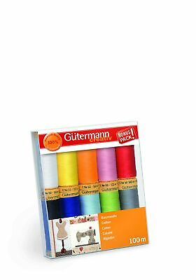 4031 1.70 EUR//100 Meter Gütermann Multicolor Quiltgarn Cotton 30 Farbe