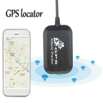 Vehicle Real-time GPS Tracker Bike Motorcycle Car Tracking Device Portable