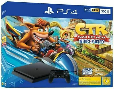 Sony  Playstation 4 slim 500GB schwarz + Crash Team Racing CUH-2216A F-Chassis