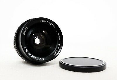 PENTACON Electric 24mm 2.8 MC Ultra Wide Angle Lens for M42 fit with caps