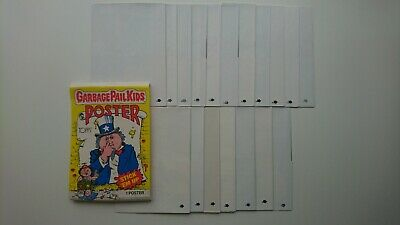 Garbage Pail Kids GPK 1986 USA - Complete Poster Set 1 - 18 - MINT COLLECTORS