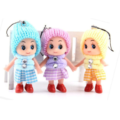 Hot Kids Toys Soft Interactive Baby Dolls Toy Mini Doll For Girls Cute Gift