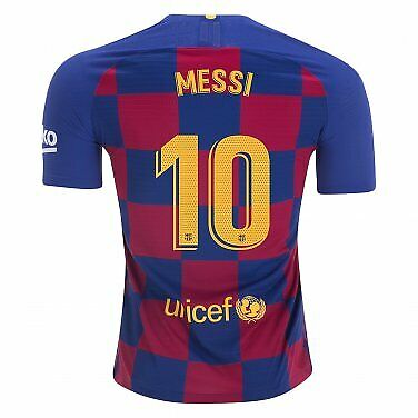 Barcelona home shirt 2019/20 messi 10 SIZE M