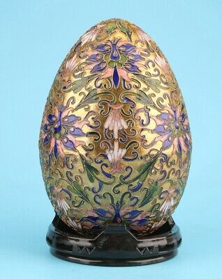 Chinese Cloisonne Enamel Decorative Balls Hand-Made Crafts Old Collectible Gifts