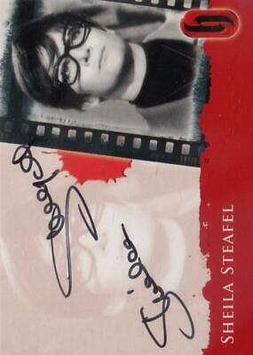 Hammer Horror Series 2 Sheila Steafel Autographed Card (2010 Strictly Ink)