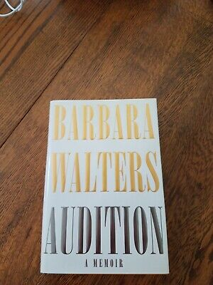 Barbara Walters Signed Autograph Audition A Memoir HC Book