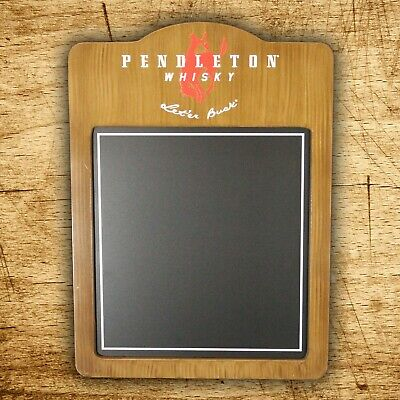 Pendleton Whisky Bar Chalkboard with wood frame - New in original packaging!