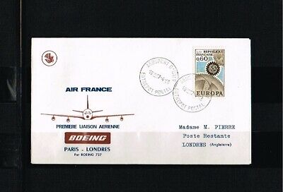 [FS011] 1968 - France Air France first flight - Transport - Airplanes - Paris-Lo
