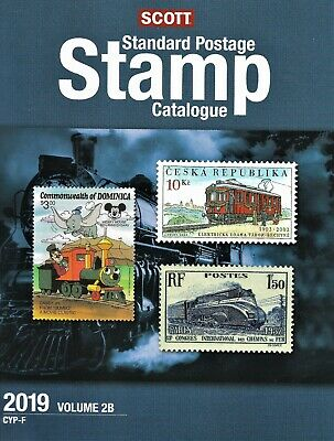 Scott 2019 Standard Stamp Catalogue Volume 2B Countries Of The World Cyp-F