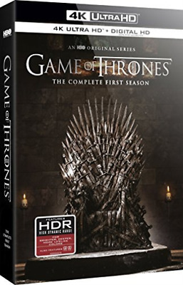 GAME OF THRONES-4K Blu-Ray - GAME OF THRONES:SEASON 1 Blu-Ray NEW