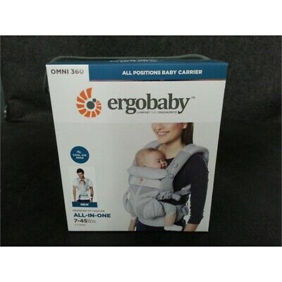 Ergobaby Omni 360 All in One Baby Carrier with Cool Air Mesh - Pearl Grey