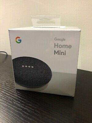 Google Home Mini Smart Speaker with Google Assistant - Charcoal