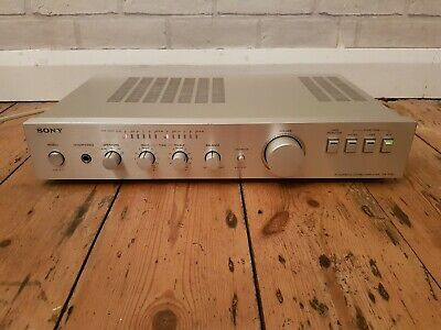 Vintage Sony TA-F30 Integrated Amplifier. With phono input for turntables.