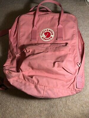 AUTHENTIC PINK FJALLRAVEN kanken backpack 16l/ classic size