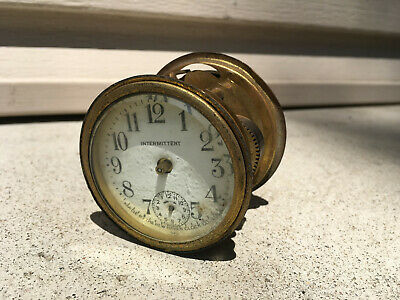 Vintage New Haven Intermittent Clock Movement For Parts Repair