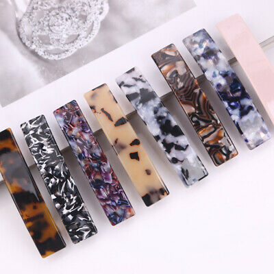 Women Leopard French Hair Clip Barrette Hairpin Accessories Headwear Headress