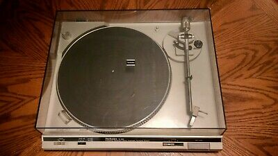 Technics SL-B35 Automatic Turntable System Tested Working Good New Belt