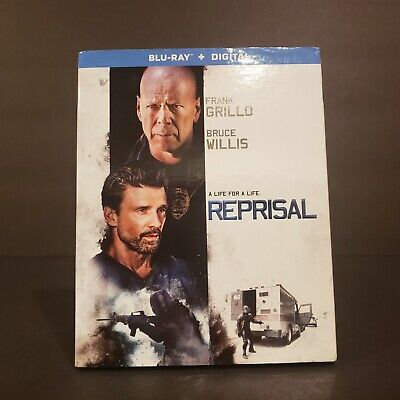 Reprisal (Blu-ray Disc, 2018, Includes Digital Copy) BRAND NEW W/ SLIP COVER