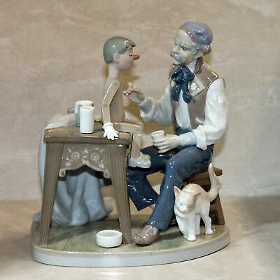 Lladro 5396, The Puppet Painter   AS IS  (bd_00153)
