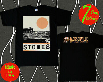 The Rolling Stones Not Filter Tour July 19 2019 Jacksonville Tshirt S - 2XL