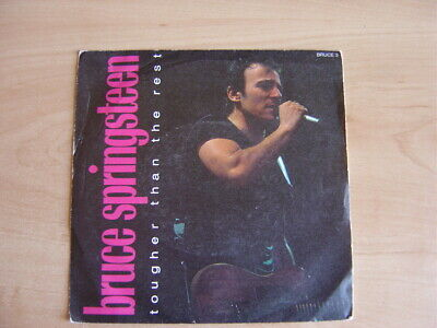 """Bruce Springsteen: Tougher Than The Rest 7"""": 1988 UK Release: Picture Sleeve"""