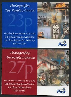ISLE OF MAN MNH 2002 Photography Booklets