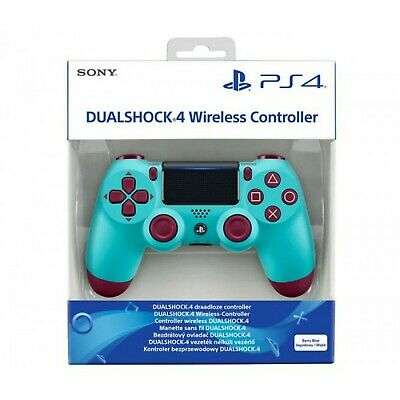 Original SONY DualShock 4 Berry Blue Edition PlayStation 4 PS4 Gaming Controller