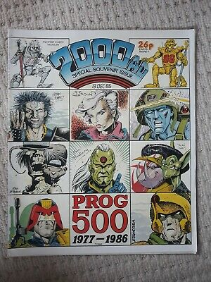 2000ad #500-599 Incomplete