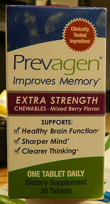 Prevagen Extra Strength Chewables  Improves Memory - 30 Chewable Tablets