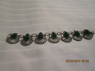Antique Mexican Silver Bracelet