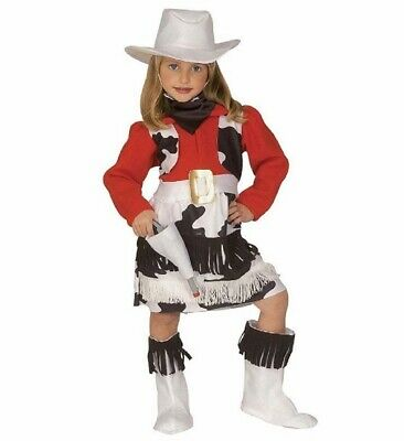 Cowgirl Faschingsköstüm Childrens Fancy Dress Girl, Size 110 cm, 3-4 Years