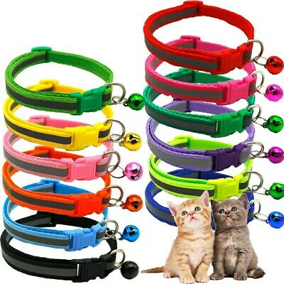 Pet Dog Cat Collar Reflective Adjustable Neck Strap Perfect Present For Pets
