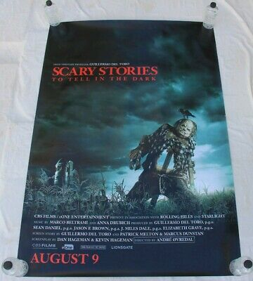 Scary Stories To Tell In The Dark Guerillmo Del Toro BUS SHELTER POSTER 4'x6'