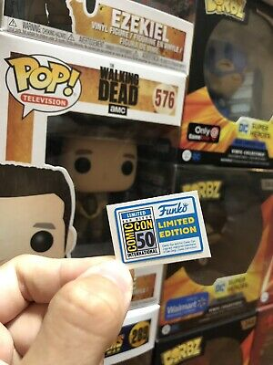 Funko Pop! Figure (2019 San Diego Comic Con Exclusive) Replacement Sticker