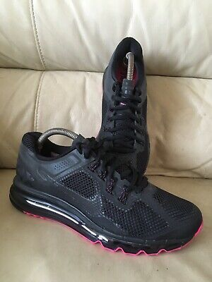 NIKE AIR MAX 2013 Trainers UK Size 11 Grey and White