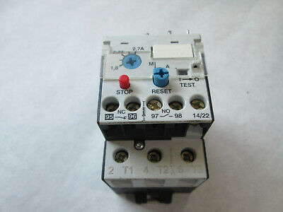 Automation Direct RTD32 270 Ovleroad Relay (1.8 to 2.7 Amp) TESTED