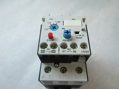 Automation Direct RTD32 180 Ovleroad Relay (1.2 to 1.8 Amp) TESTED