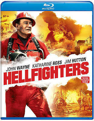 Hellfighters (Blu-ray Disc, 2015, Canadian) BRAND NEW SEALED