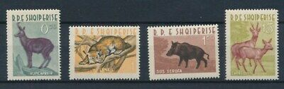 [81332] Albania 1962 Fauna good set Very Fine MNH stamps Value $40
