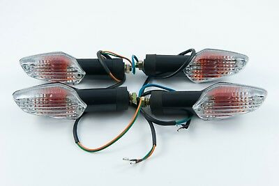Front & rear indicators set of 4 suitable for Honda CBR125 R all years UK stock