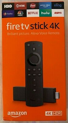 *NEW* Factory Sealed 2019 Amazon Fire TV Stick 4K Alexa Remote - Great Deal